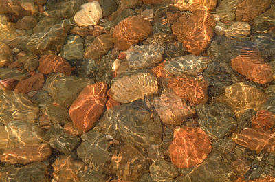 Photograph - Lake Superior Rocks by Peg Toliver