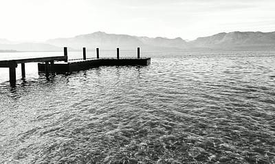 Photograph - Lake Tahoe - Pier Of Dreams by Brad Scott