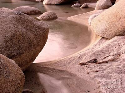 Beach Scenes Photograph - Lake Tahoe Calmness by Scott McGuire