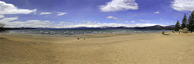 Art Print featuring the photograph Lake Tahoe by Paul Plaine