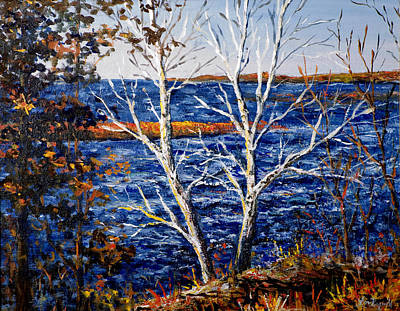 Painting - Lake Winnie by Lou Ann Bagnall