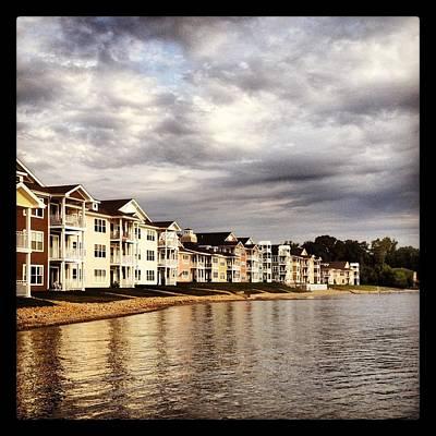 Photograph - Lakefront Living by Lora Mercado