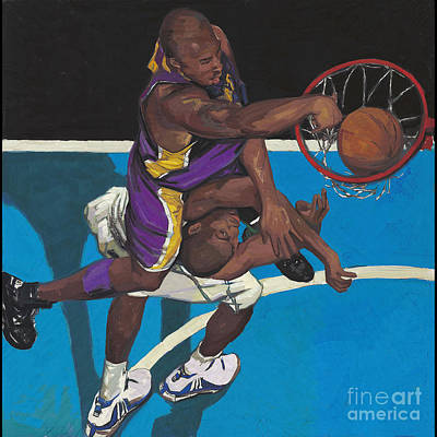 Lakers Player Original by Yong Ma