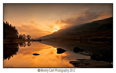 Photograph - Lakeside Sunset by Beverly Cash
