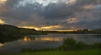 Ps I Love You - Lakeside Sunset by Cindy Haggerty