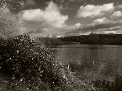 Photograph - Lakeside View by Kathleen Grace