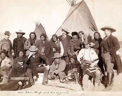 Lakota Brul�, Miniconjou, And Oglala Art Print by Everett