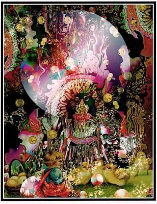 Hindu Goddess Digital Art - Lakshmi by Janiece Senn