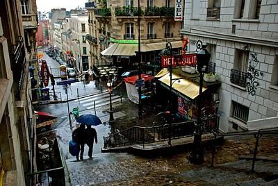 Photograph - Lamarck-caulaincourt Metro Stop by Eric Tressler