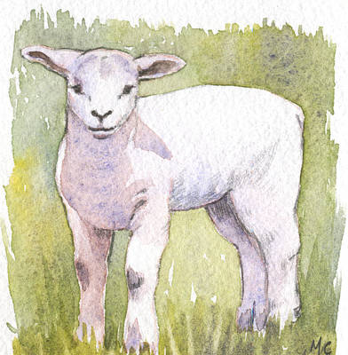 Painting - Lamb by Maureen Carter