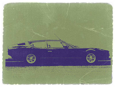Old Car Photograph - Lamborghini Espada by Naxart Studio