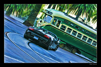 Photograph - Lamborghini Gallardo Spyder San Francisco by Blake Richards
