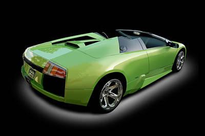 Digital Art - Lamborghini Murcielago by Richard Herron