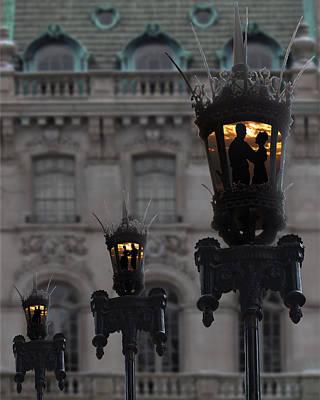 Photograph - Lamplight Dancers by Susan OBrien