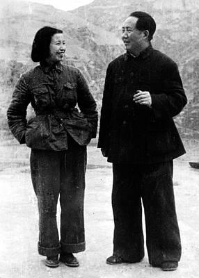 Madame Photograph - Lan Ping Madame Mao And Mao Tse-tung by Everett