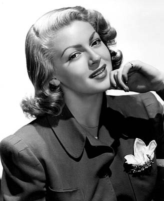 Photograph - Lana Turner, 1940s by Everett