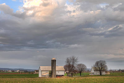 Photograph - Lancaster County Farm by Craig Leaper