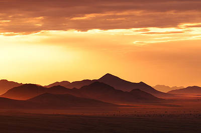Hardap Region Photograph - Land Of Sand by Christian Heeb