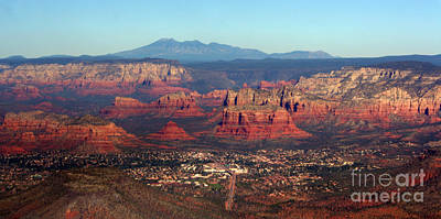 Photograph - landing in Sedona by Julie Lueders