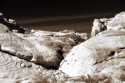 Photograph - Landing In The Desert by John Rizzuto