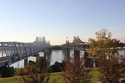 Photograph - Landmark Bridges  by Barry Jones