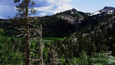 Photograph - Landscape - Carson Pass 1 by Xueling Zou