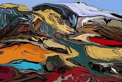 Digital Art - Landscape 010112 by David Lane