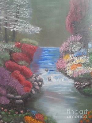 Landscape 2 Art Print by Lea Kirby
