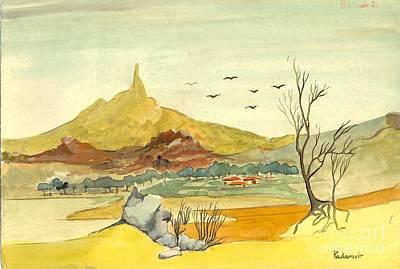 Landscape 4 Art Print by Padamvir Singh