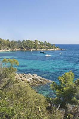 Scenic View In France Photograph - Landscape Along Corniche De Maures by Maremagnum