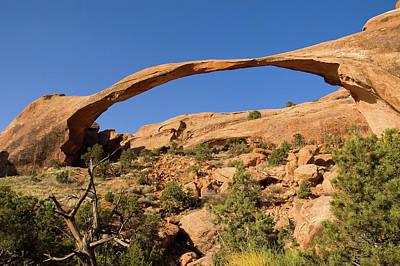 Photograph - Landscape Arch by Steve Stuller