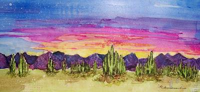 Landscape Art Print by Regina Ammerman