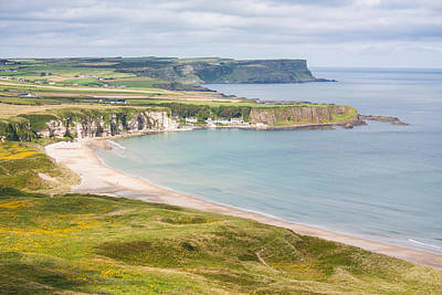 Photograph - Landscape View Of White Park Bay by Semmick Photo