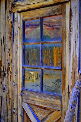 Photograph - Landscape Window by Diane montana Jansson