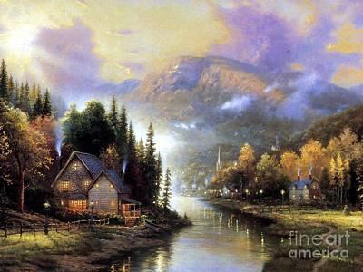 Landscapes Painting - Landscapes by Vishal Lakhani