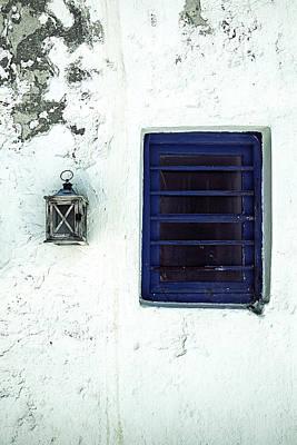 Lantern And Window Art Print