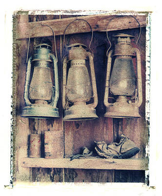 Photograph - Lanterns And Shoe by Joe  Palermo
