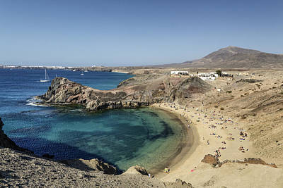 Lanzarote , Art Print by Travelstock44 - Juergen Held