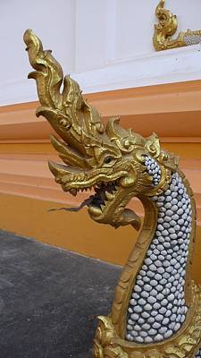 Laos Naga  Art Print by Gregory Smith