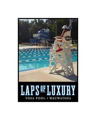 Digital Art - Laps Of Luxury by Geoff Strehlow
