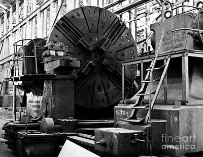 Stock Photograph - Large Lathe by John Buxton