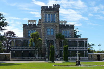 Photograph - Larnach Castle by Carla Parris