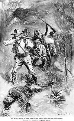 Las Guasimas, Cuba, 1898 Art Print