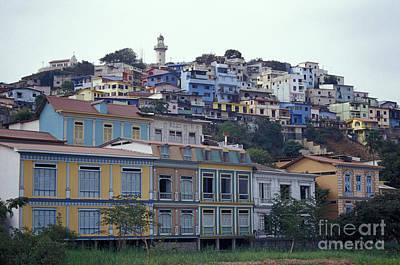 Photograph - Las Penas Guayaquil Ecuador by John  Mitchell