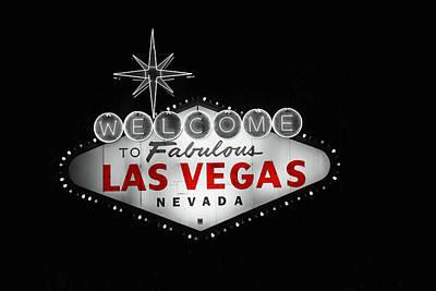 Las Vegas Art Print by Ivan SABO