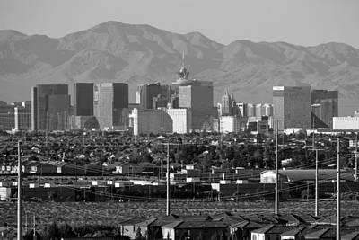 Photograph - Las Vegas Suburbs by Julie Niemela