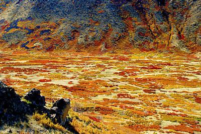 Lasal Mt. Kaleidoscope Art Print