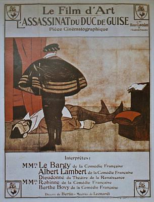 L'assassinat Du Duc De Guise Art Print