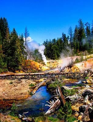 Lassen Photograph - Lassen Volcanic National Park Devil's Kitchen by Scott McGuire