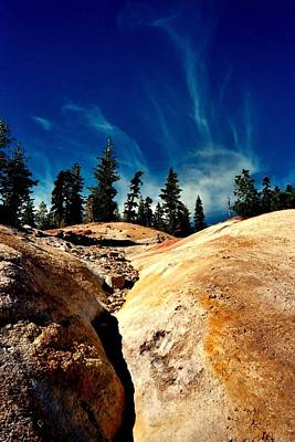 Art Print featuring the photograph Lassen Volcanic National Park by Peter Mooyman